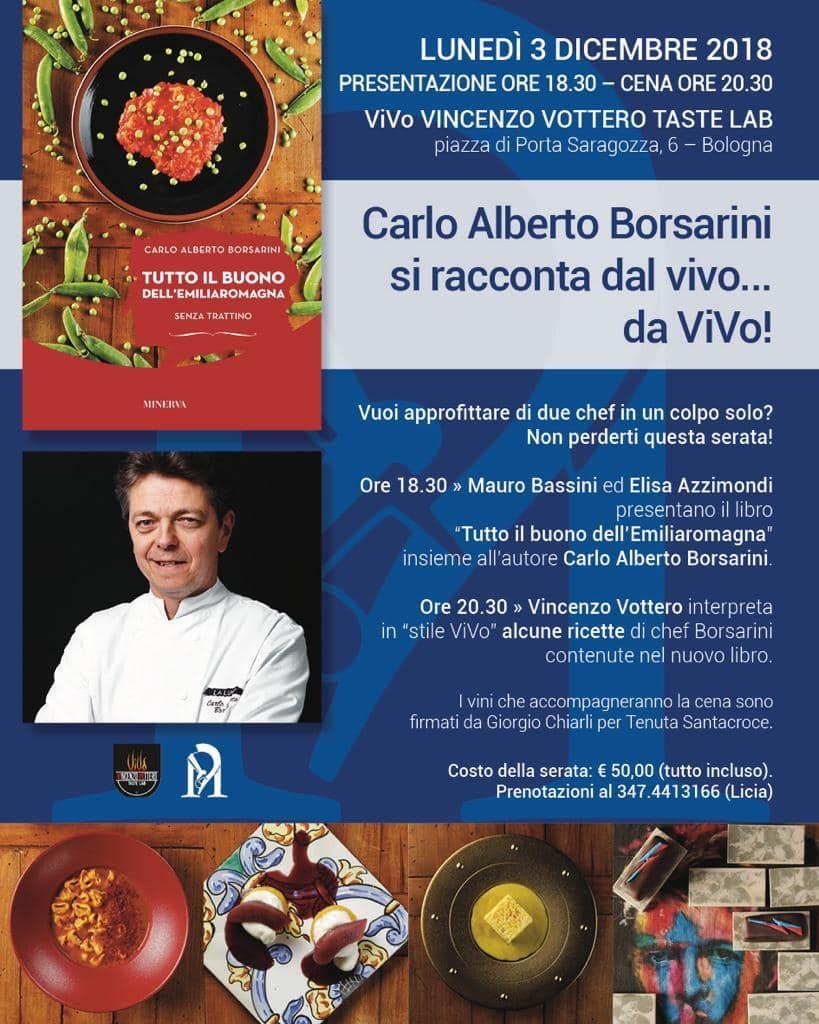 Carlo Alberto Borsarini si racconta dal vivo...da ViVo!